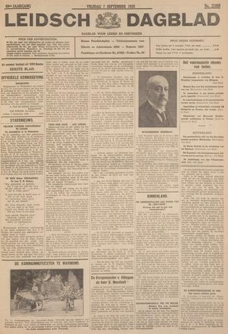 Leidsch Dagblad 1928-09-07
