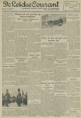 Leidse Courant 1949-11-14