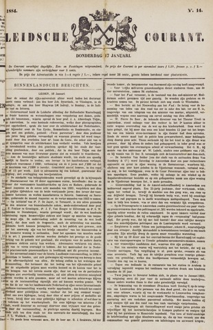 Leydse Courant 1884-01-17