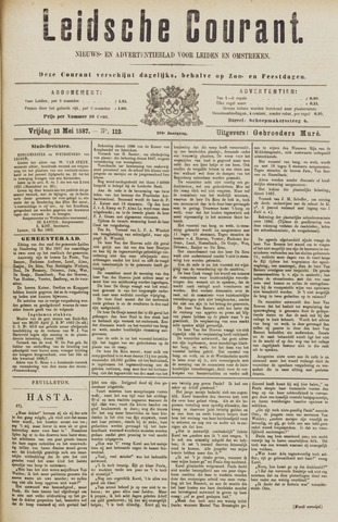 Leydse Courant 1887-05-13