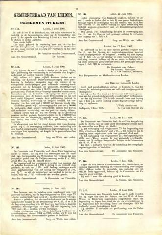 Handelingen van de Raad 1905-06-05