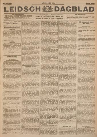 Leidsch Dagblad 1926-07-23