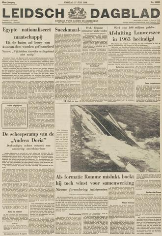 Leidsch Dagblad 1956-07-27