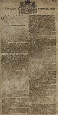 Leydse Courant 1765-01-09