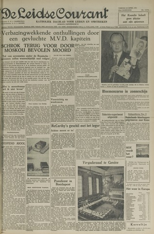 Leidse Courant 1954-04-23