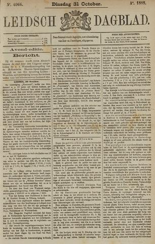 Leidsch Dagblad 1882-10-31