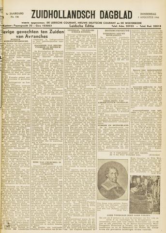 Zuidhollandsch Dagblad 1944-08-03