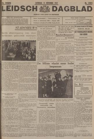 Leidsch Dagblad 1937-11-13