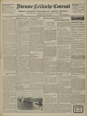 Nieuwe Leidsche Courant 1938-07-25