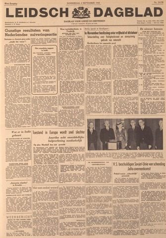 Leidsch Dagblad 1947-09-04