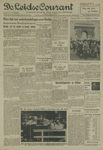 Leidse Courant 1959-03-07