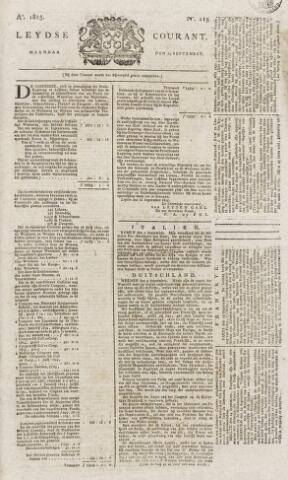 Leydse Courant 1815-09-25
