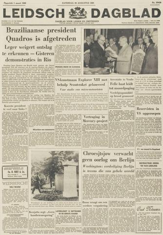 Leidsch Dagblad 1961-08-26