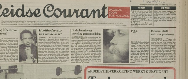 Leidse Courant 1983-11-01