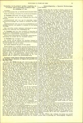Handelingen van de Raad 1933-02-15