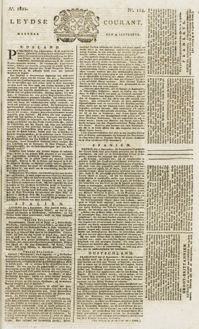 Leydse Courant 1822-09-23