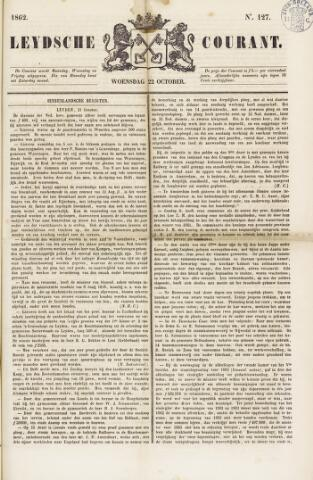 Leydse Courant 1862-10-22