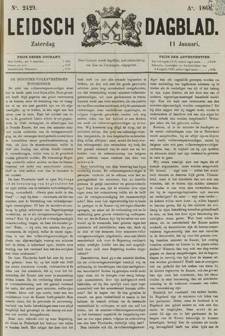 Leidsch Dagblad 1868-01-11