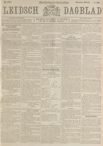 Leidsch Dagblad 1916-09-14