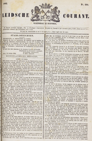 Leydse Courant 1882-10-25
