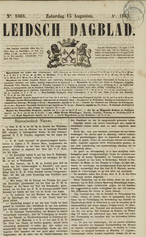 Leidsch Dagblad 1863-08-15