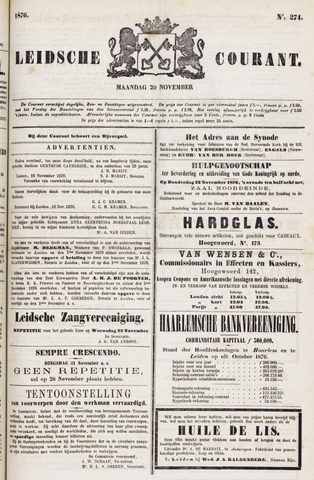 Leydse Courant 1876-11-20