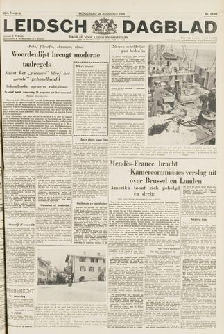 Leidsch Dagblad 1954-08-26