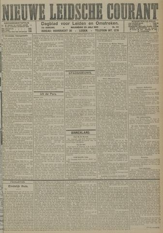 Nieuwe Leidsche Courant 1921-07-25