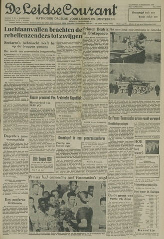 Leidse Courant 1958-02-24