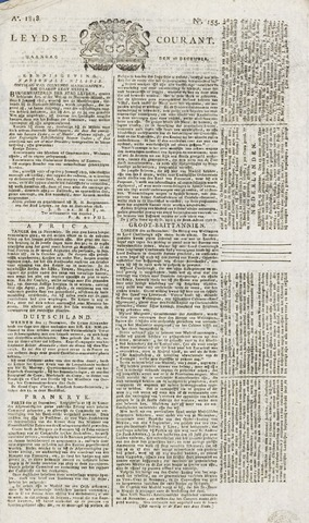 Leydse Courant 1818-12-28