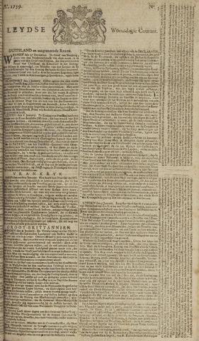 Leydse Courant 1759-01-10