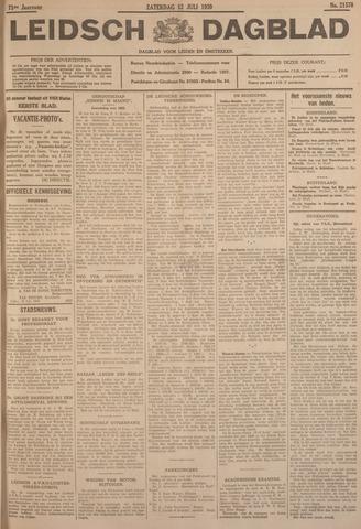 Leidsch Dagblad 1930-07-12