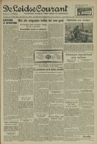 Leidse Courant 1952-04-26