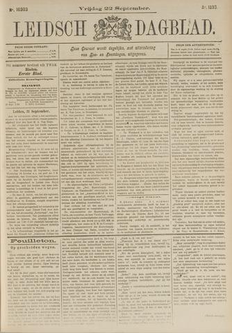 Leidsch Dagblad 1893-09-22