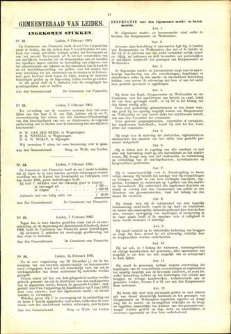 Handelingen van de Raad 1905-02-06