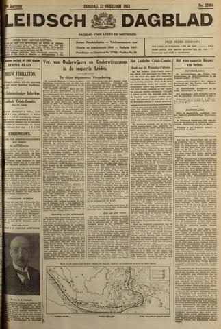 Leidsch Dagblad 1932-02-23