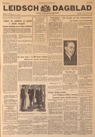 Leidsch Dagblad 1947-10-02