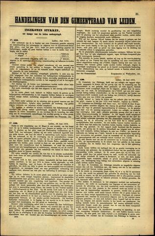 Handelingen van de Raad 1872-06-01
