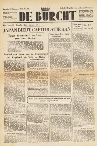 De Burcht 1945-08-11