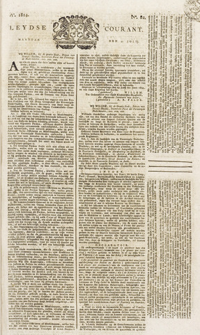 Leydse Courant 1814-07-11