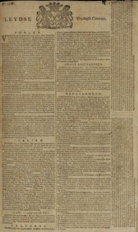 Leydse Courant 1767