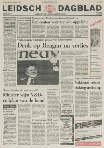 Leidsch Dagblad 1982-11-03