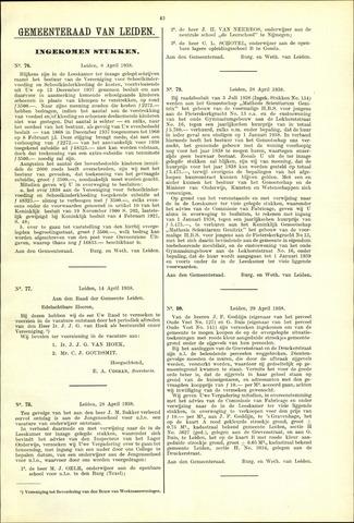 Handelingen van de Raad 1938-04-08