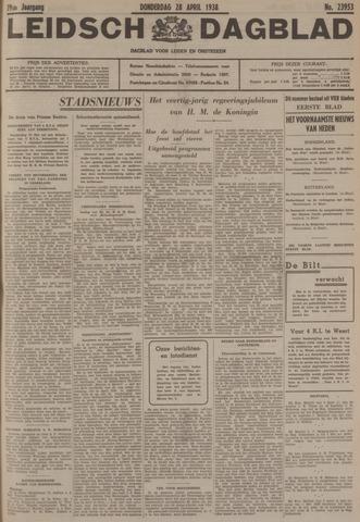Leidsch Dagblad 1938-04-28