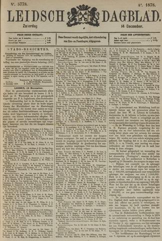 Leidsch Dagblad 1878-12-14