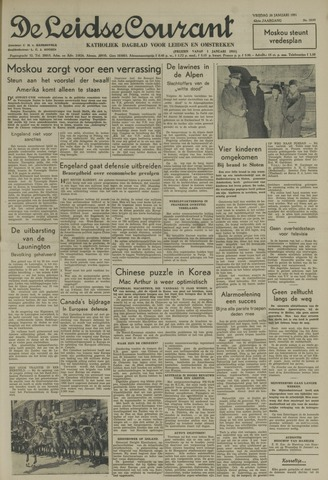 Leidse Courant 1951-01-26