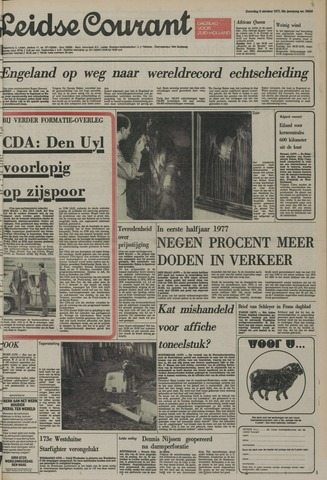 Leidse Courant 1977-10-08