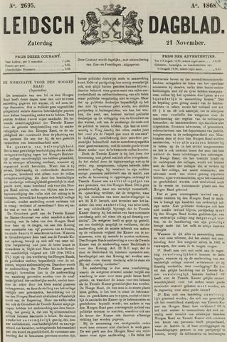 Leidsch Dagblad 1868-11-21