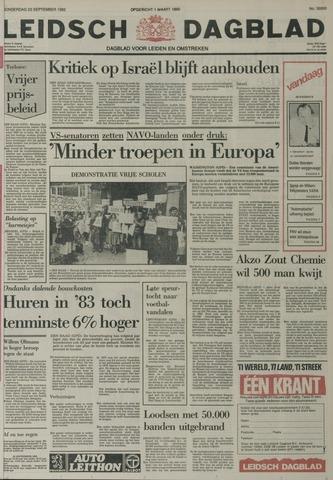 Leidsch Dagblad 1982-09-23