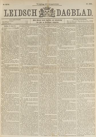 Leidsch Dagblad 1894-08-17